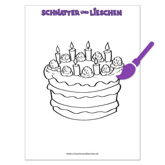 Lieschens Geburtstagstorte