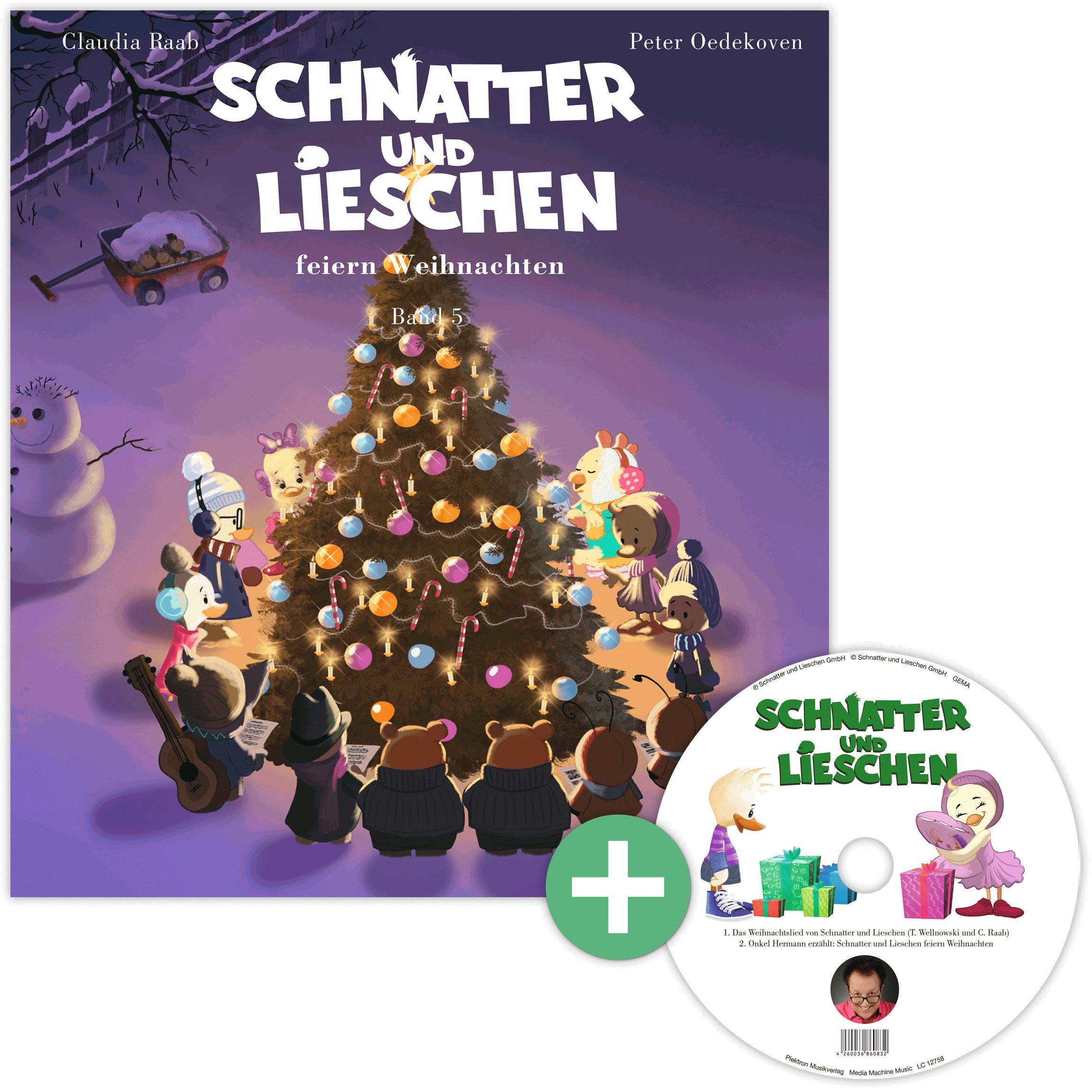 Schnatter und Lieschen: Buch und CD Band 5 - Schnatter und Lieschen ...
