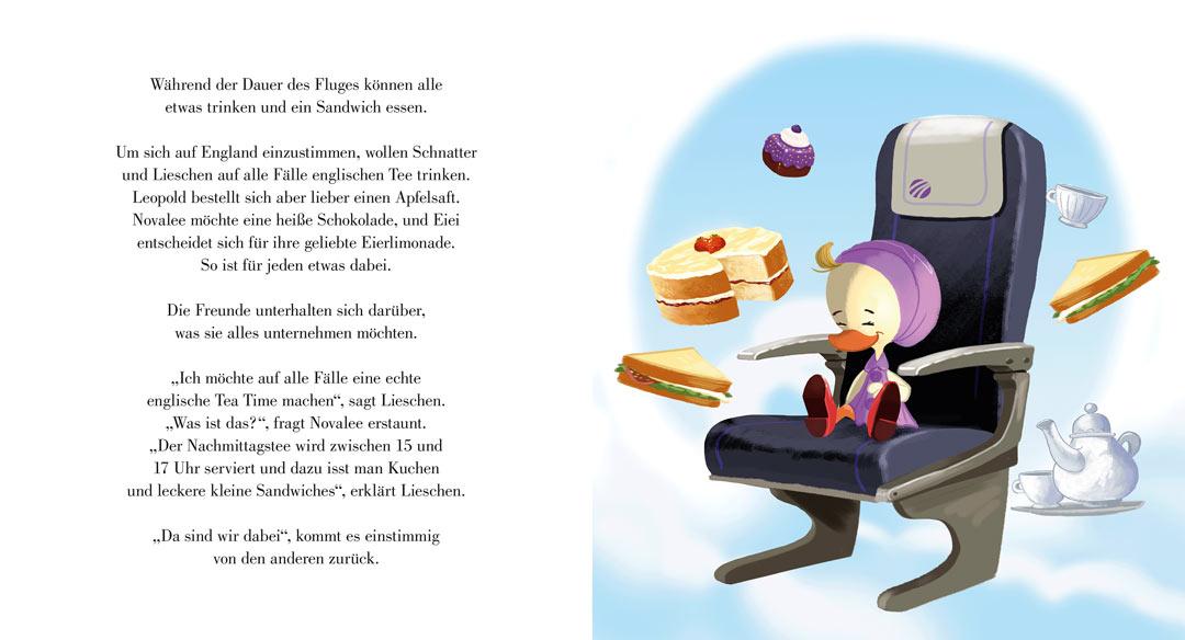 Teetime - Schnatter und Lieschen verreisen - Schnatter und Lieschen Band 4
