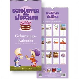 Schnatter und Lieschen Geburtstagskalender