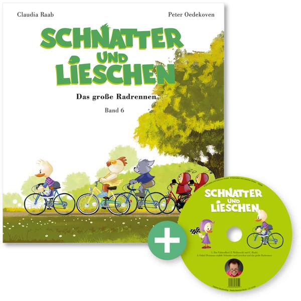 Schnatter und Lieschen – Band 6 – Das große Radrennen