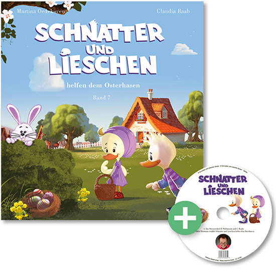 Schnatter und Lieschen helfen dem Osterhasen – Band 7 mit CD